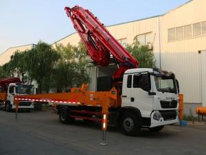 重汽豪沃26米混泥土泵车