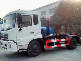 程力东风天锦12方钩臂式垃圾车