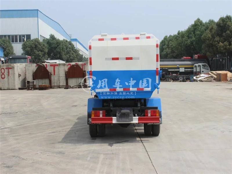 凯马4方挂桶式垃圾车