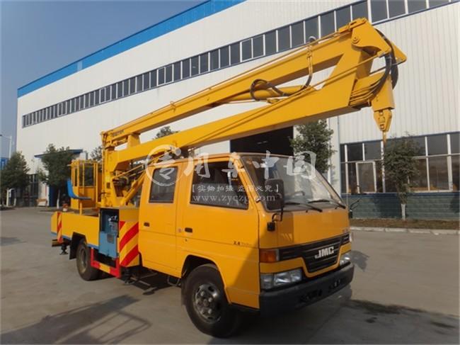 江铃12米折臂式高空作业车