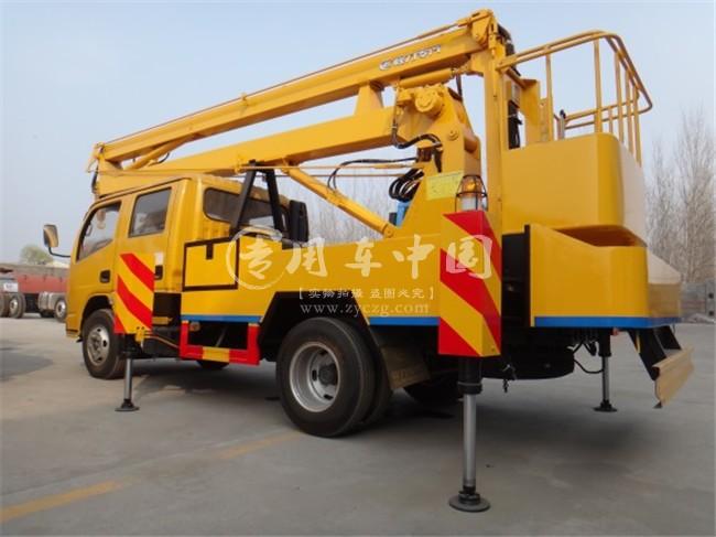 东风凯普特12米高空作业车