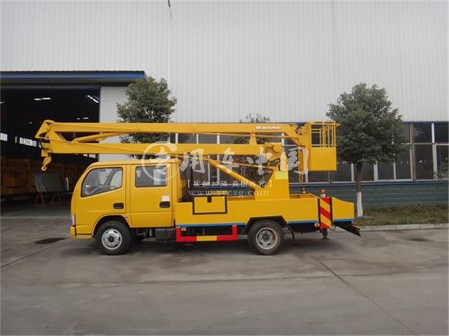 东风16米折臂式高空作业车