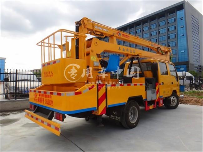 五十铃16米折臂式高空作业车