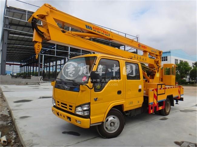 五十铃18米折臂式高空作业车