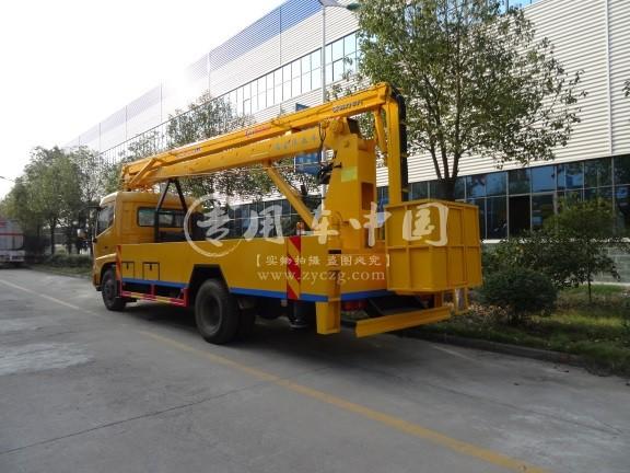 东风145型18米折臂式高空作业车