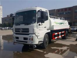 程力东风天锦12方压缩式垃圾车