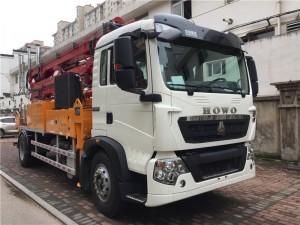 重汽豪沃30米混凝土泵车