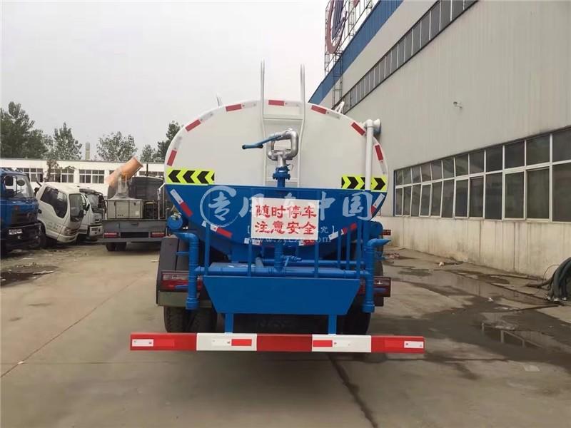 东风145型12方程力洒水车