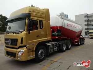 东风天龙40方水泥运输车
