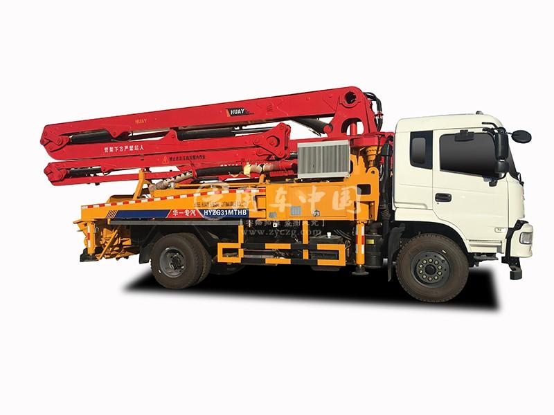 华一东风御虎31米混凝土泵车