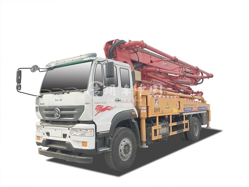 华一重汽斯太尔35米混凝土泵车
