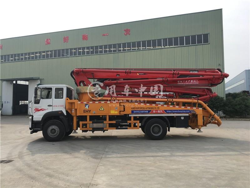 重汽斯太尔35米小型混凝土泵车