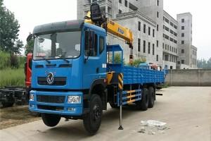 东风10吨徐工随车起重运输车价格表