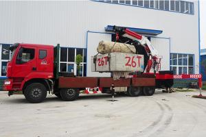 重汽60吨随车起重运输车