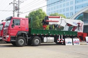重汽100吨随车起重运输车