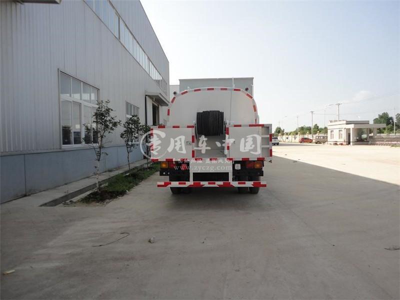 东风153型8方高压清洗车
