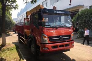 大运8吨自卸随车吊价格¥26.1万元【平安银行】