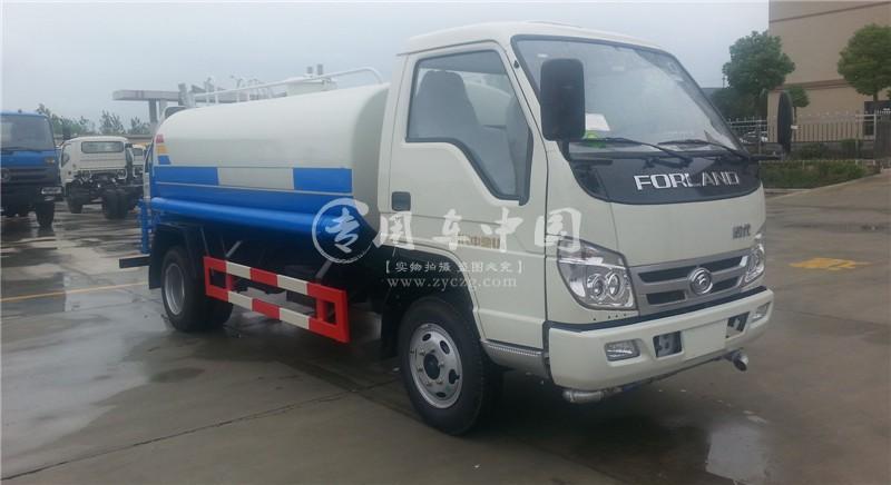 福田3吨园林洒水车