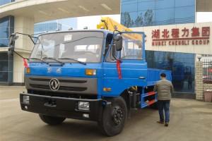 东风6.3吨广西随车起重运输车厂家直销