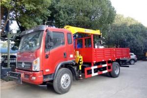 大运6.3吨程力随车起重运输车厂家大促销