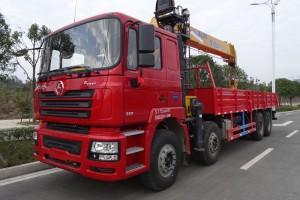最新陕汽16吨随车起重运输车厂家直供