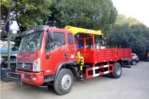 大运6.3吨程力随车起重运输车价格¥20.4万