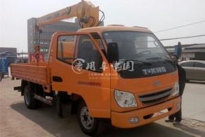唐骏2吨随车起重运输车价格¥11.5万