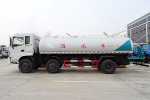 最新东风特商20吨园区洒水车厂家直销