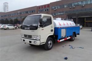 最新东风多利卡5方高压水流清洗车厂家直销