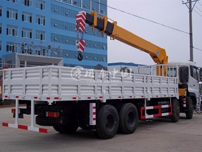 程力东风天龙16吨随车吊图片三