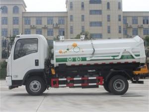 东风10方挂桶式垃圾车