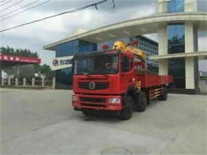 东风12吨随车起重运输车