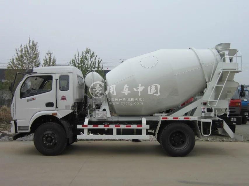 东风5方水泥罐车