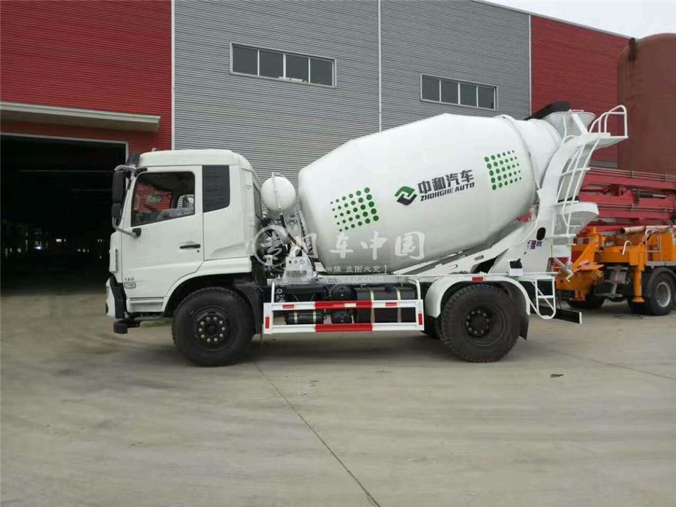 程力航天万山3方水泥搅拌车