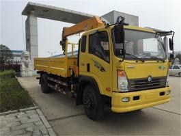 王牌6.3吨随车起重运输车