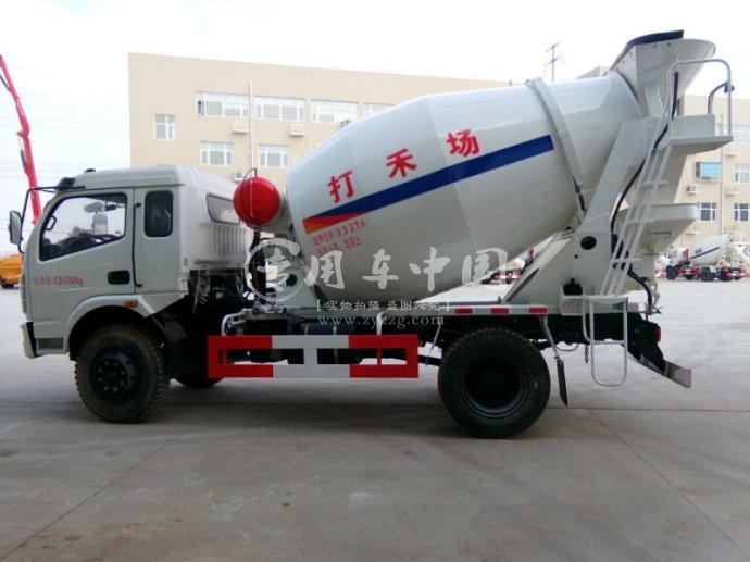 陕汽5方水泥罐车