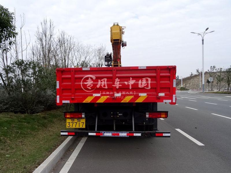程力陕汽14吨随车吊图片三
