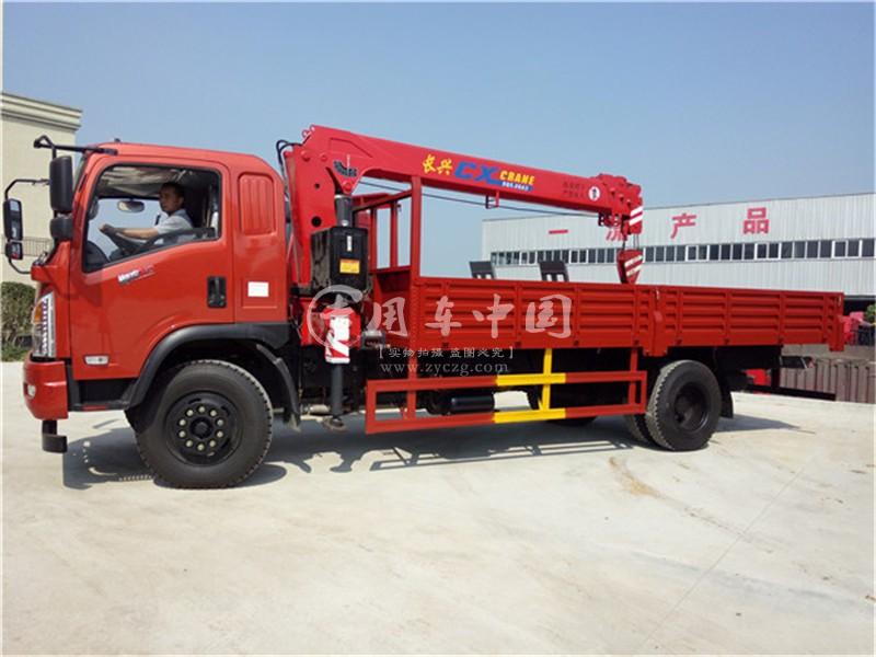 程力东风特商6.3吨随车吊图片三