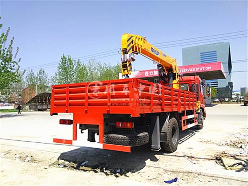 程力东风天锦6.3吨随车吊图片二