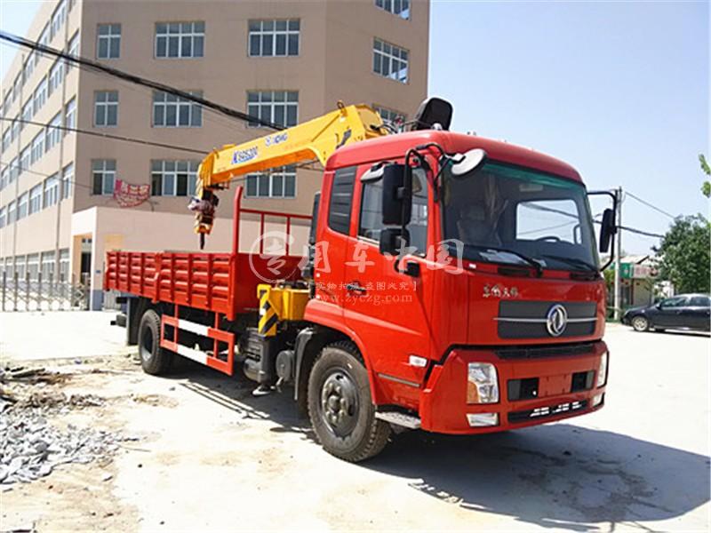 程力东风天锦6.3吨随车吊图片三