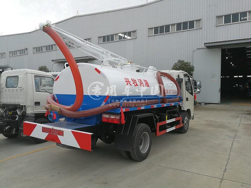 张总购买的东风5方淮安吸污车为淮安的环境尽一份力