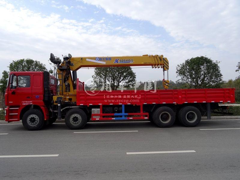 程力陕汽德龙14吨随车吊
