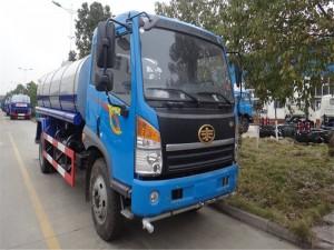 解放12吨绿化洒水车