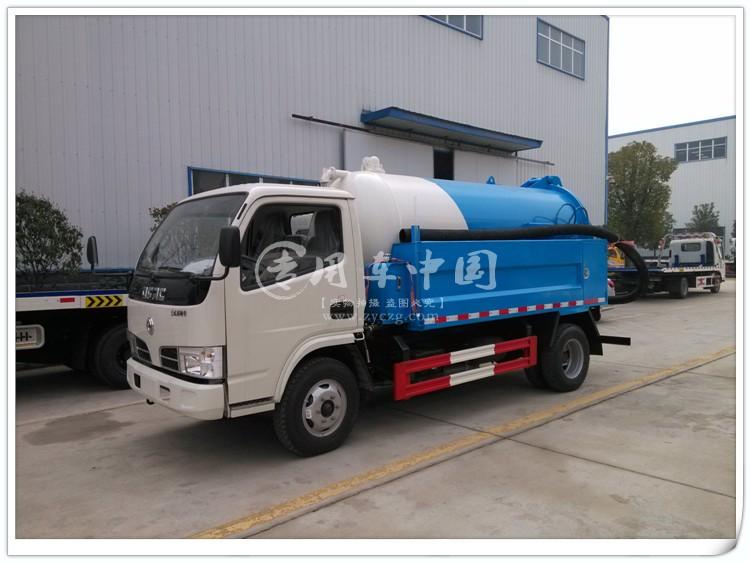 东风3方高压清洗车图片2