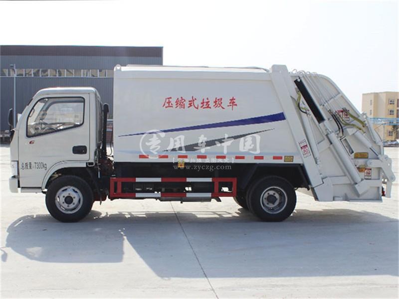 东风5方压缩式垃圾车图片2