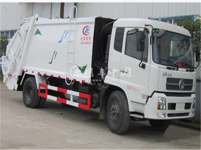 天锦12方压缩式垃圾车