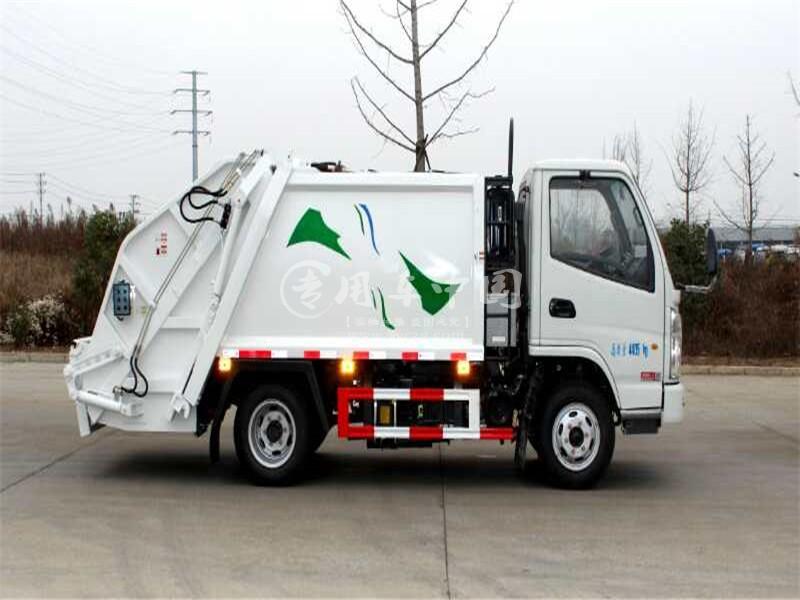 凯马5方压缩式垃圾车