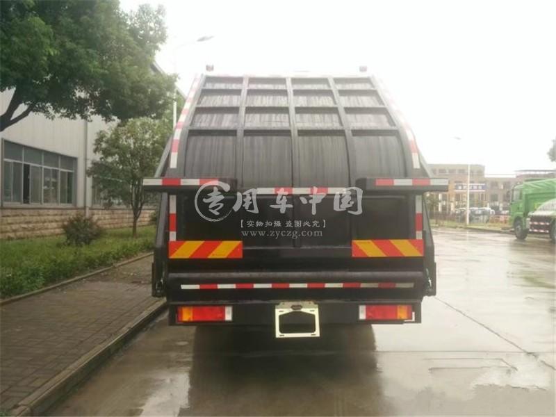 天龙18方压缩式垃圾车