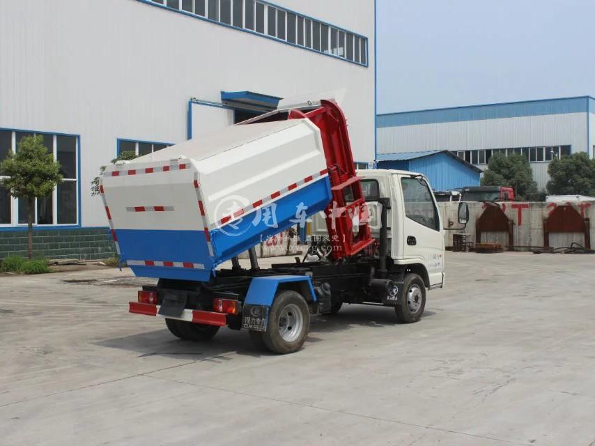 凯马5方压缩式垃圾车图片2