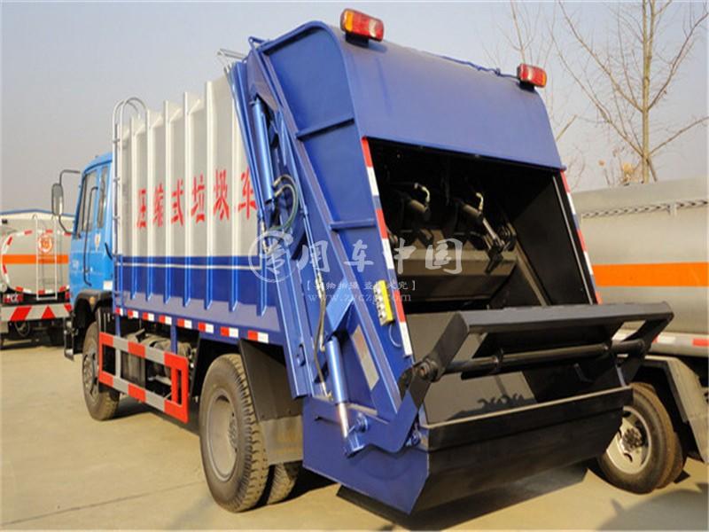 153型12方压缩式垃圾车